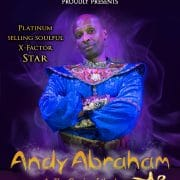Andy Abraham as The Genie of the Lamp