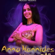 Anna Hannides as Princess Jasmine