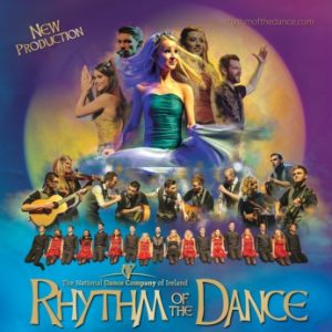 Rhythm of the Dance tour poster