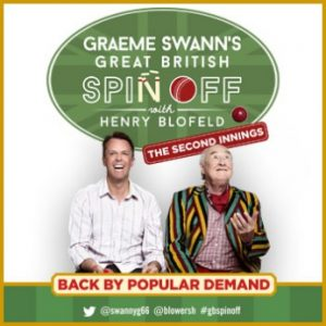 Graeme Swans Great British Spin-off with Henry Blofeld