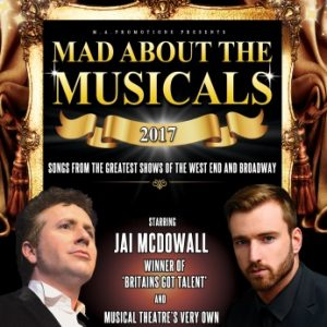 Mad about the musicals starring jai mcdowall