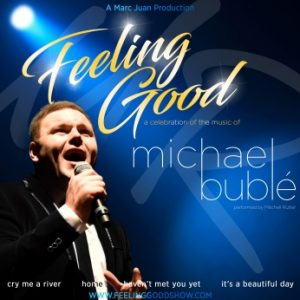 Mitchell Rutter as Michael Buble Square